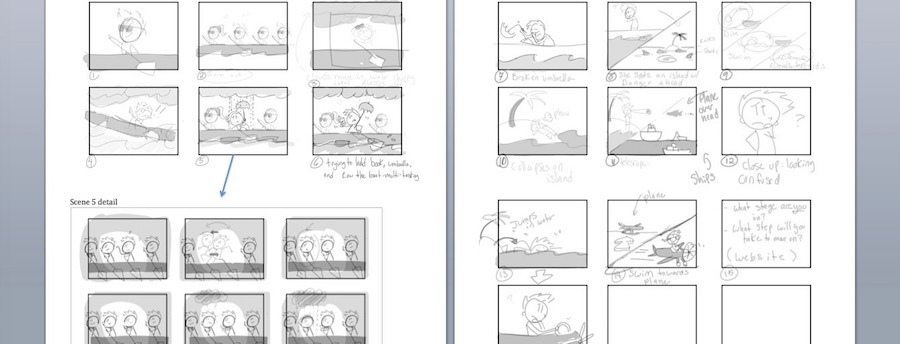 7 Stages Career Change StoryBoard