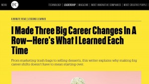 Fast Company Joseph Liu What I Learned