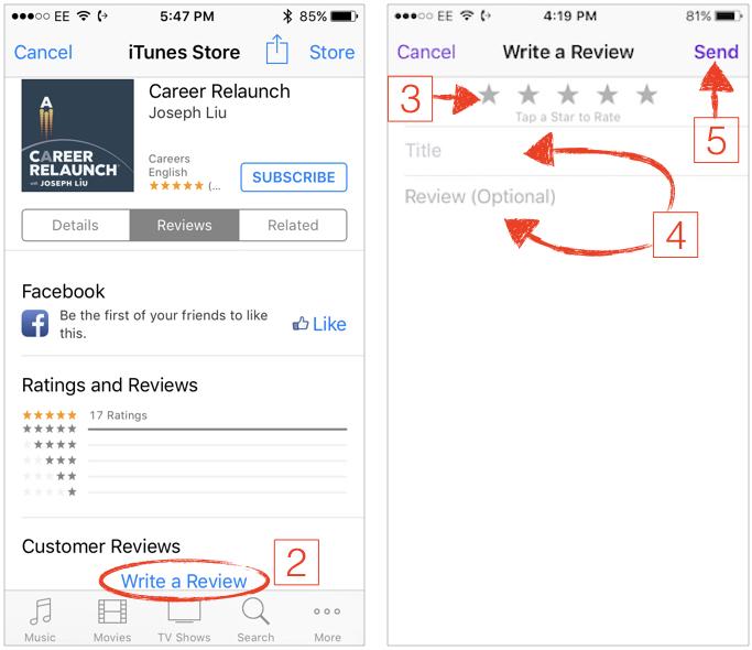 iOS iTunes
