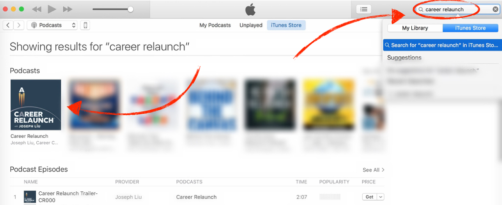 iTunes Search