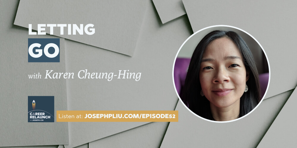 Letting Go of Outcomes with Karen Cheung-Hing- CR052