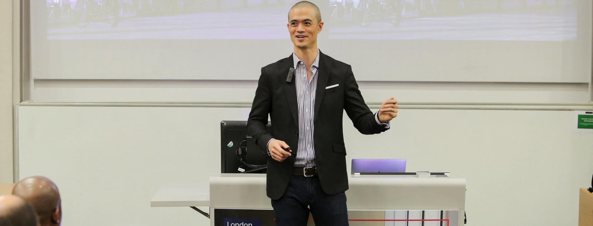 Joseph Liu LBS Alumni Keynote
