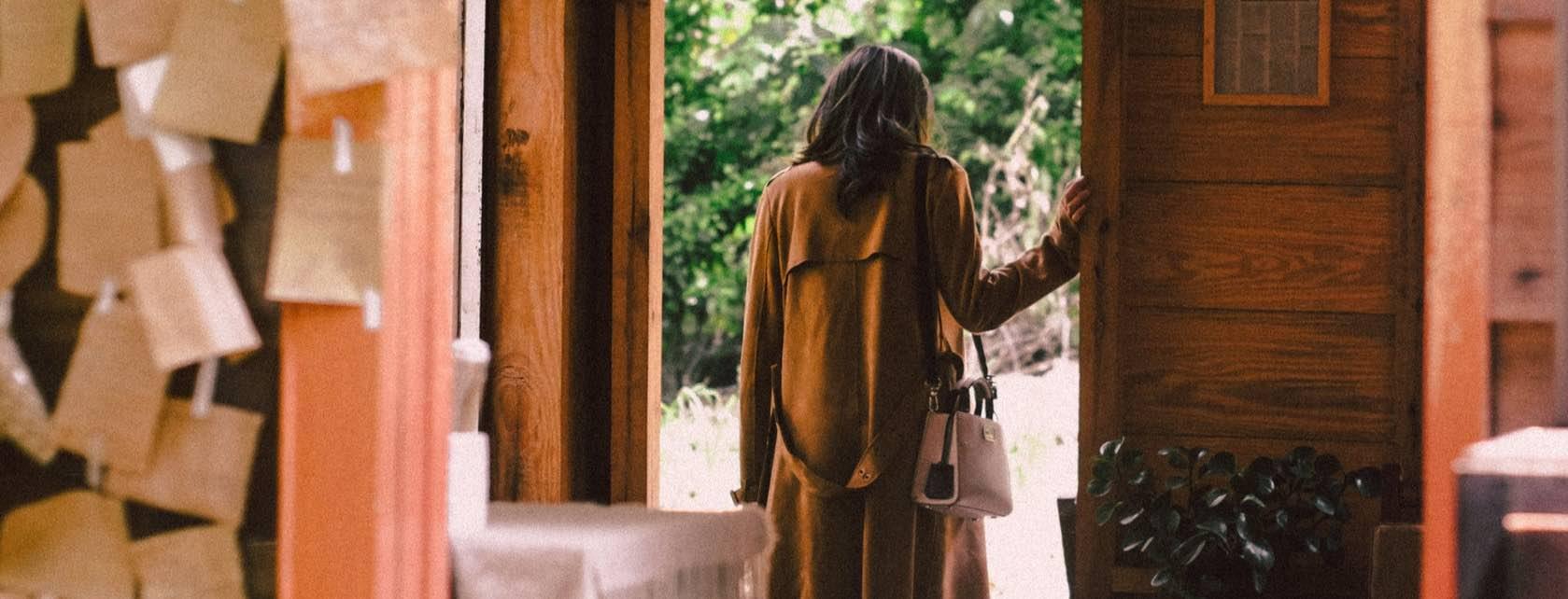 Woman in Door